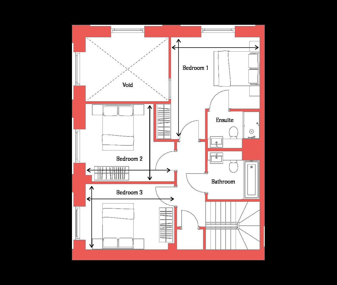 Type 1 First Floor