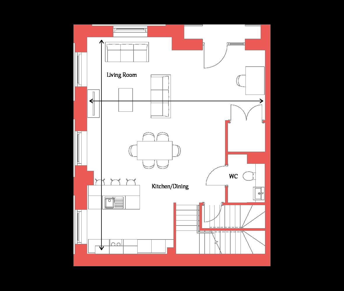 Type 1 Ground Floor
